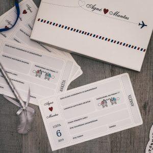 Anketos vestuvių svečiams VA76. <strong>0,8 €</strong>