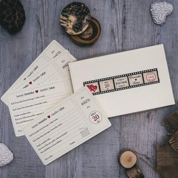 Anketos vestuvių svečiams VA85