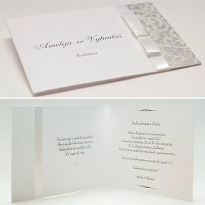 Vestuviniai kvietimai VK45. <strong>1,8 €</strong>