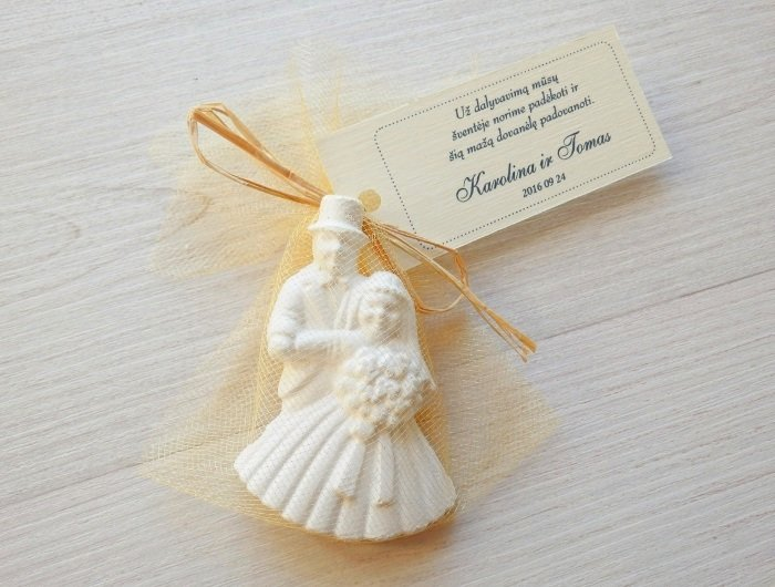 Įsimylėję Jaunavedžiai - Dovanėlės vestuvių svečiams