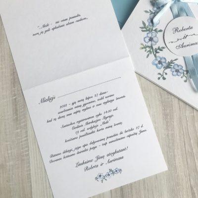 Kvietimai vestuvėms VK117