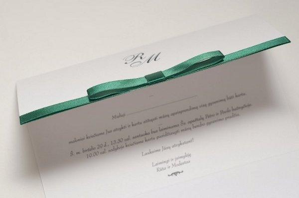 Kvietimai vestuvėms ir vestuvinė atributika