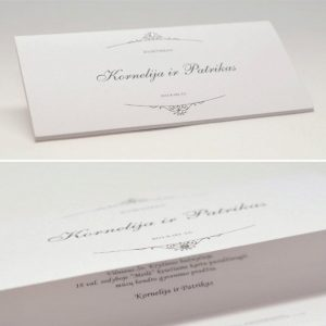 Vestuviniai kvietimai VK39.  <strong>1,1 €</strong>