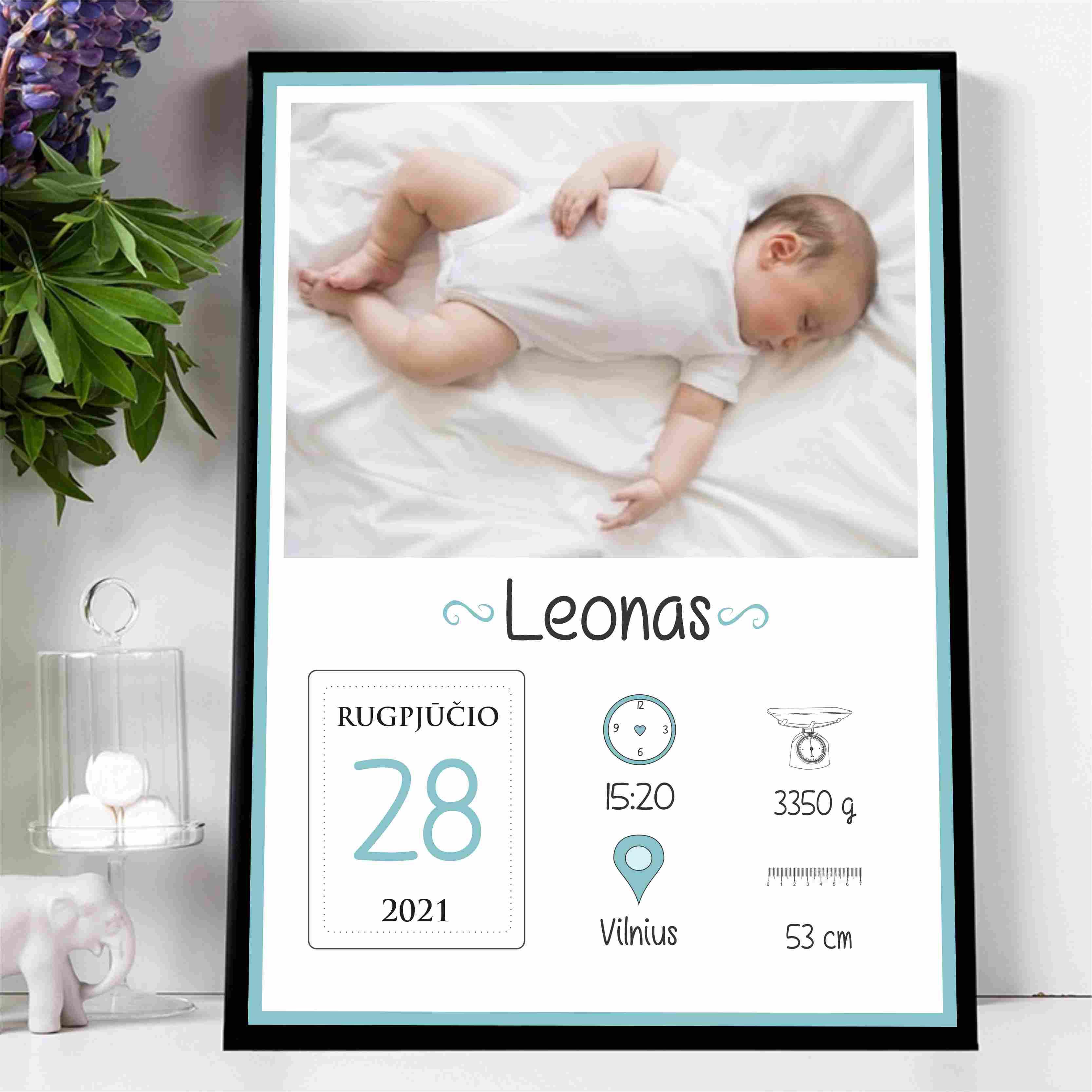 Vaiko gimimo metrikas VM5