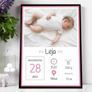 Vaiko gimimo metrikas VM6. <strong>13 €</strong>
