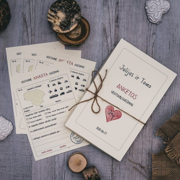 Vestuvines anketos svečiams - VA2