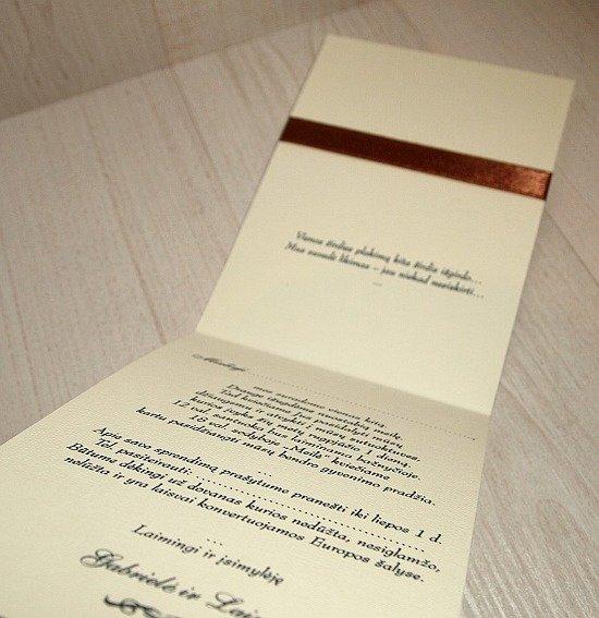 Vestuviniai kvietimai - VK10