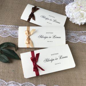 Vestuviniai kvietimai VK100. <strong>1,6 €</strong>