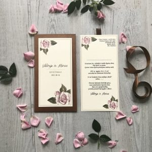 Vestuviniai kvietimai VK101. <strong>2,9 €</strong>