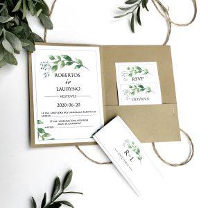 Vestuviniai kvietimai VK102. <strong>2,4 €</strong>