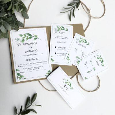 Vestuviniai kvietimai - VK102