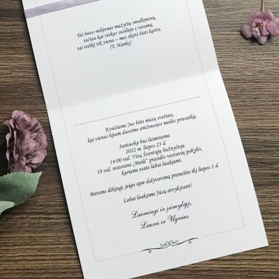 Vestuviniai kvietimai VK105