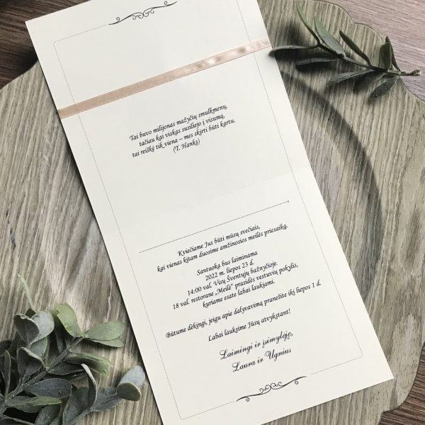 Vestuviniai kvietimai VK106