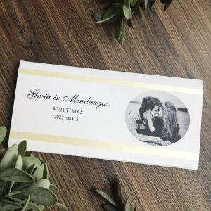 Vestuviniai kvietimai VK107. <strong>1,6 €</strong>