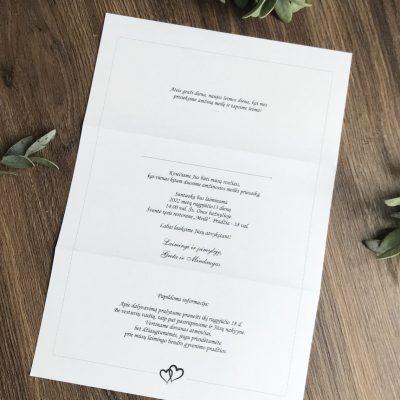 Vestuviniai kvietimai VK107