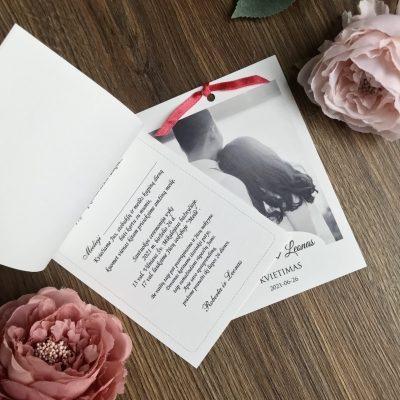 Vestuviniai kvietimai VK108