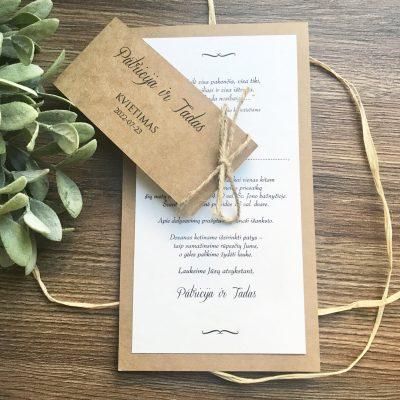 Vestuviniai kvietimai VK112