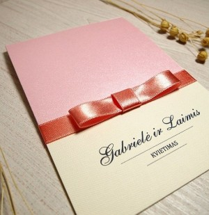 Vestuviniai kvietimai - VK14&nbsp;&nbsp;&nbsp;<strong>1,5 €</strong>