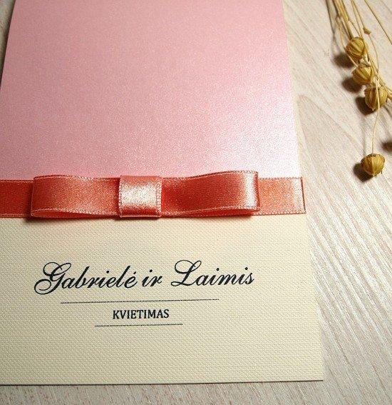 Vestuviniai kvietimai - VK14