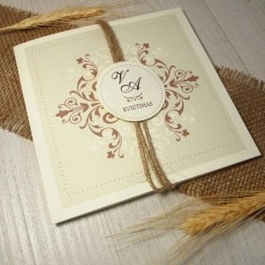 Vestuviniai kvietimai - VK16