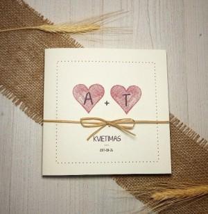 Vestuviniai kvietimai - VK17&nbsp;&nbsp;&nbsp;<strong>1,4 €</strong>