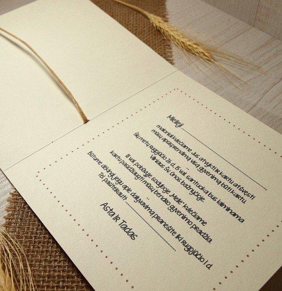 Vestuviniai kvietimai - VK17