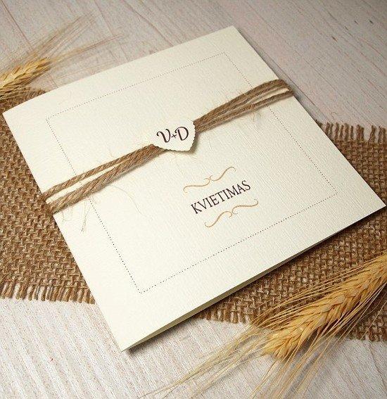 Vestuviniai kvietimai - VK18