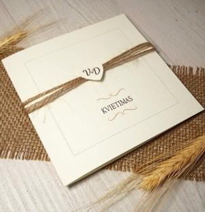 Vestuviniai kvietimai VK18.  <strong>1,6 €</strong>