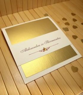 Vestuviniai kvietimai VK2. <strong>1,35 €</strong>