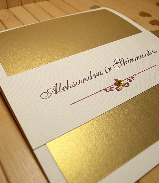 Vestuviniai kvietimai - VK2