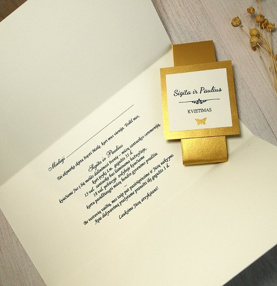 Vestuviniai kvietimai - VK21