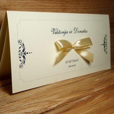 Vestuviniai kvietimai VK22
