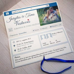 Vestuviniai kvietimai VK23. <strong>1,95 €</strong>