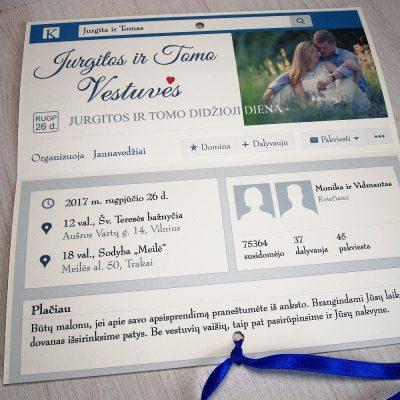 Vestuviniai kvietimai VK23