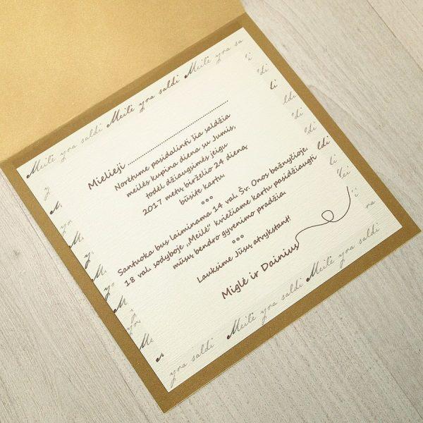 Vestuviniai kvietimai VK28