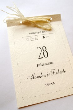 Vestuviniai kvietimai - VK34