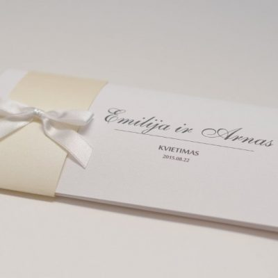 Vestuviniai kvietimai - VK38-2