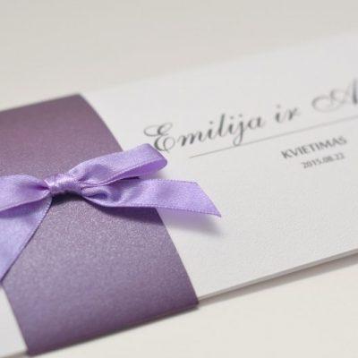 Vestuviniai kvietimai - VK38-4