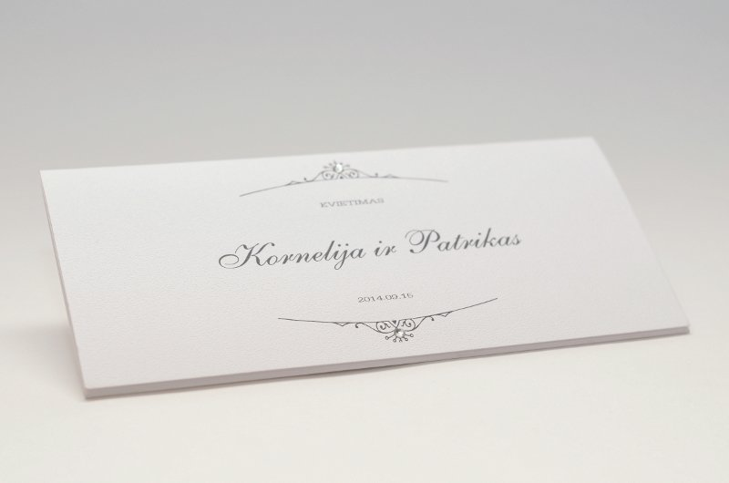 Vestuviniai kvietimai - VK39