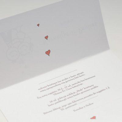 Vestuviniai kvietimai - VK40