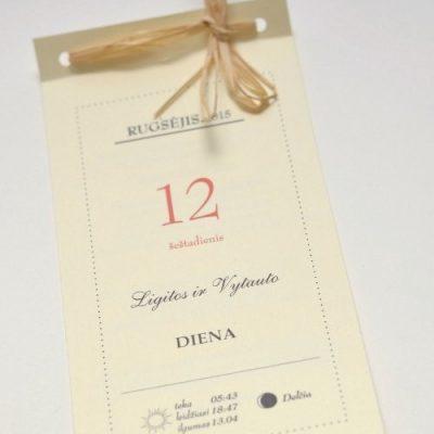 Vestuviniai kvietimai - VK41
