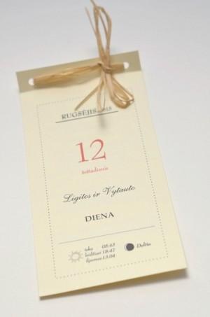 Vestuviniai kvietimai - VK41&nbsp;&nbsp;&nbsp;<strong>1,5 €</strong>