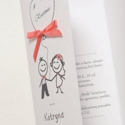 Vestuviniai kvietimai - VK44