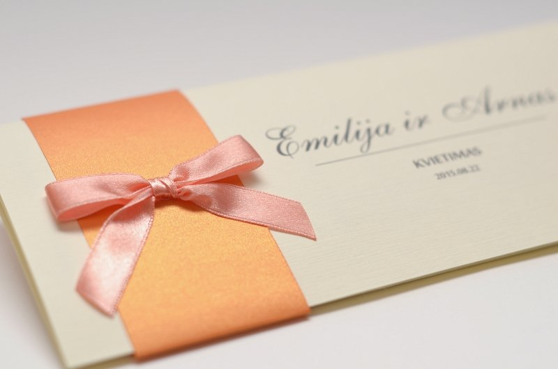 Vestuviniai kvietimai - VK46-1