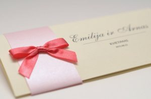 Vestuviniai kvietimai VK46. <strong>1,5 €</strong>