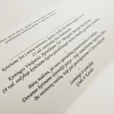 Vestuviniai kvietimai - VK48