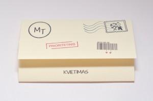 Vestuviniai kvietimai VK49. <strong>1 €</strong>