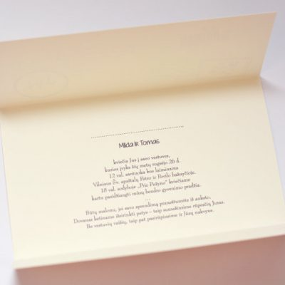 Vestuviniai kvietimai - VK49