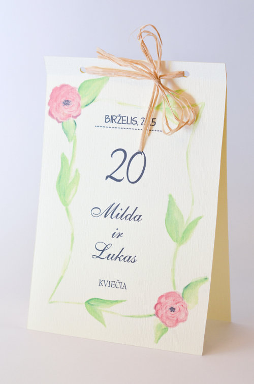 Vestuviniai kvietimai - VK50