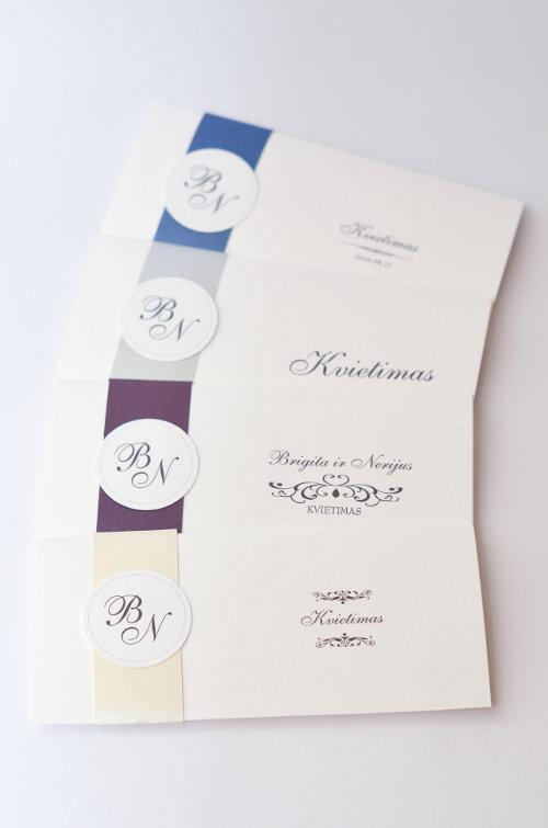 Vestuviniai kvietimai - VK55